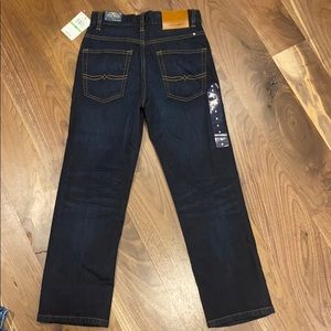 Lucky brand Boys classic straight fit blue jeans
